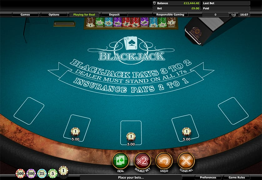 How Play Multihand Blackjack