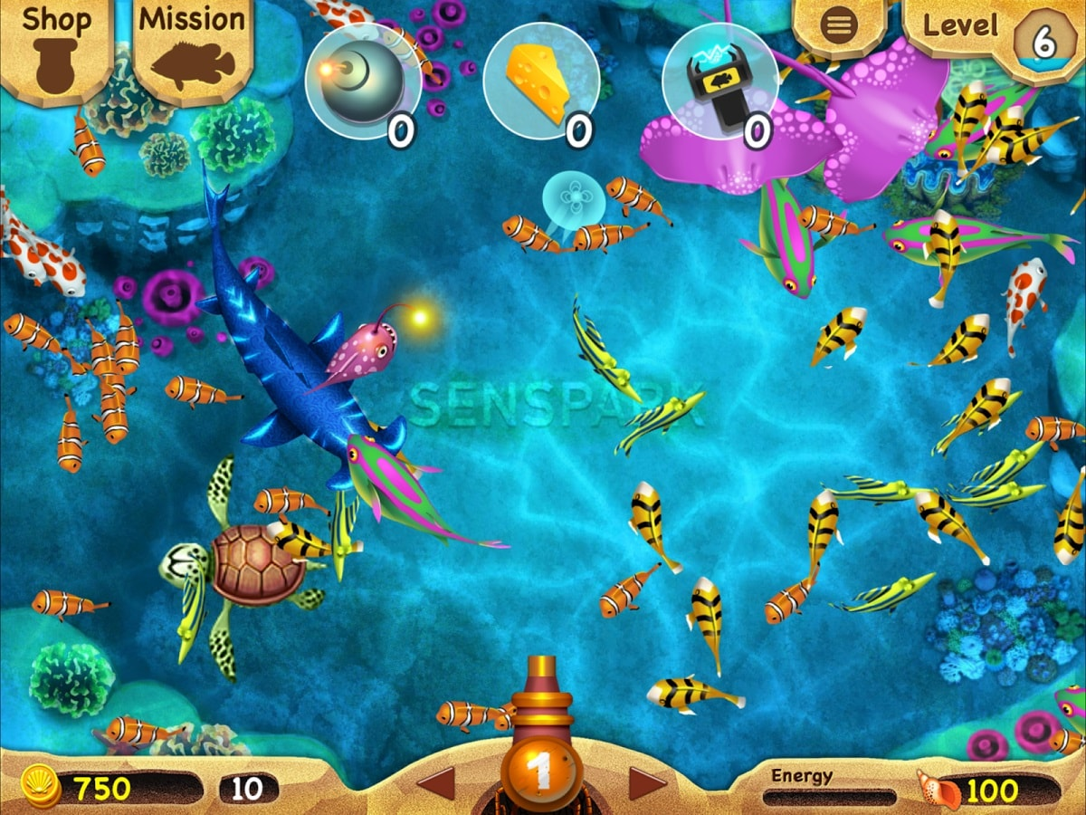 STORY FROM A FISH GAME MASTER