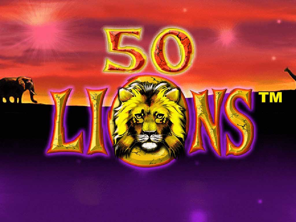 50 Lions Poker Machine