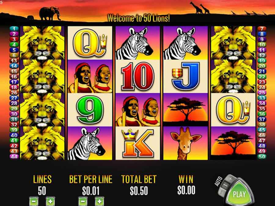 50-Lions-slot-machine