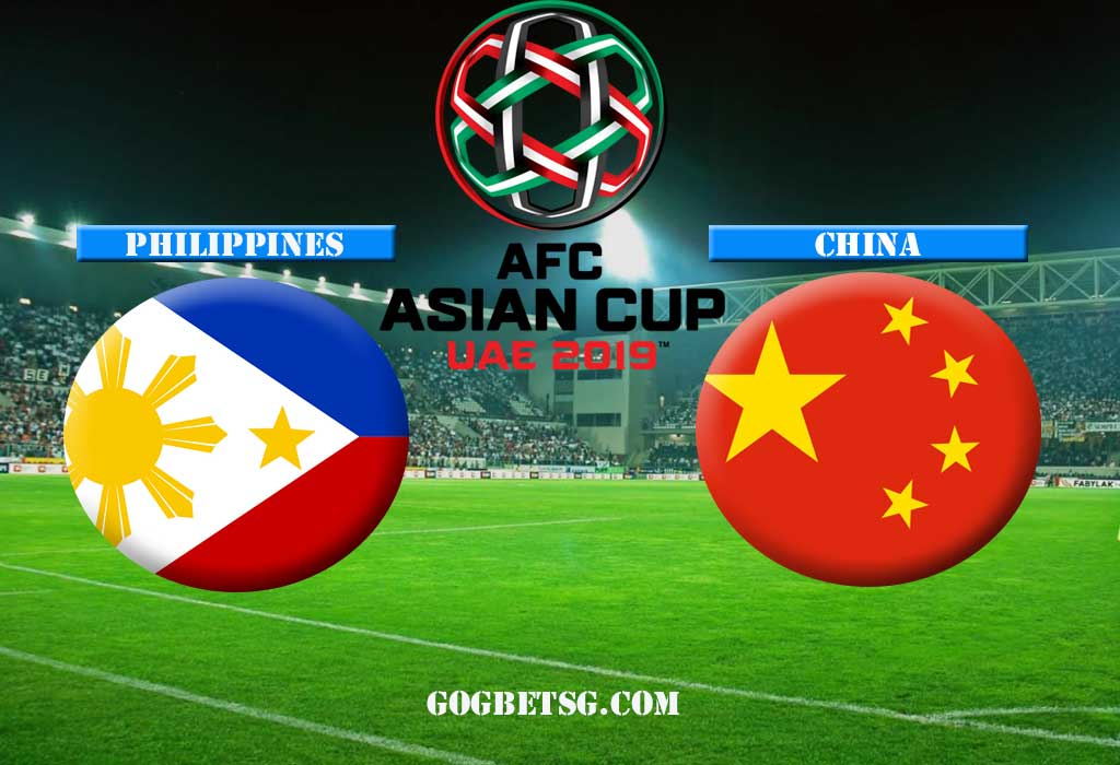 AFC Asian Cup 2019 – China vs Philippines – 11/01/2019