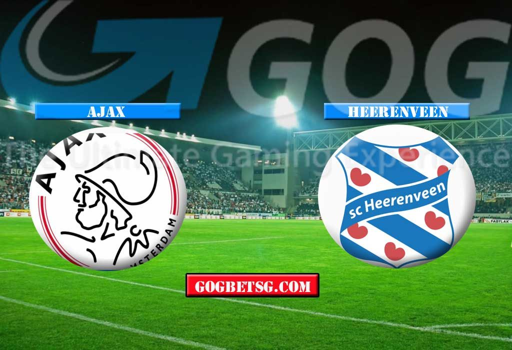 Ajax vs Heerenveen - 25/01/2019 Football Betting Tips