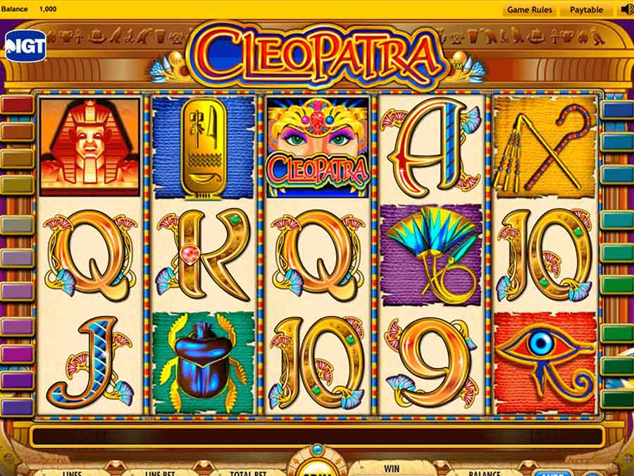 Cleopatra Slot Machine3