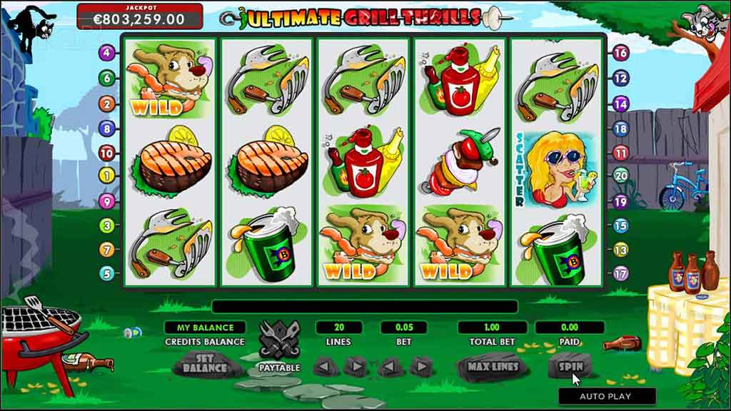 PLAY SLOT ULTIMATE GRILL THRILLS