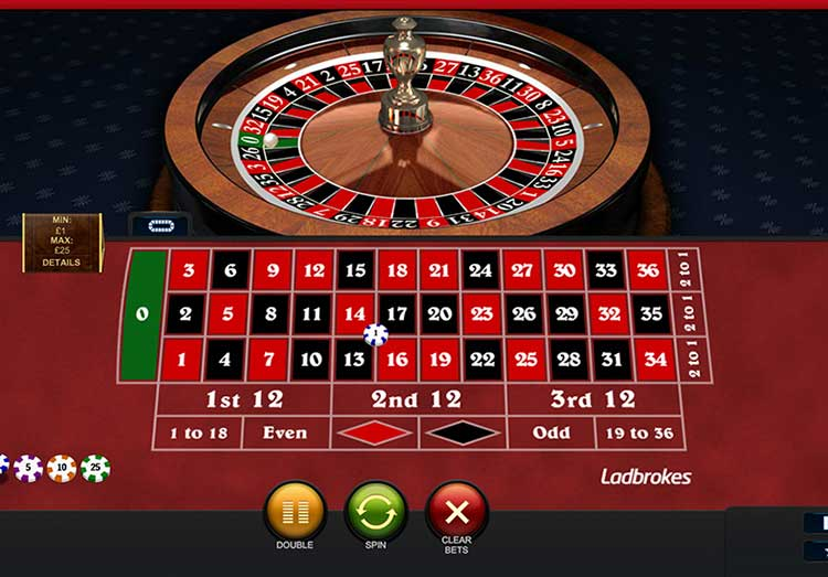 Spiele European Roulette Low Stakes - Video Slots Online