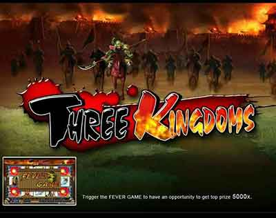slots game Three Kingdoms