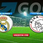 Prediction Real Madrid vs Ajax   – 6/3/2019 Football Betting Tips