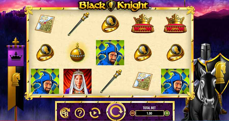Black Knight Slots Machine features