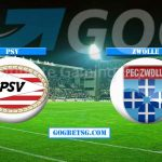 Prediction PSV vs Zwolle – 4/4/2019 Football Betting Tips