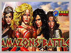 Amazons' Battle Slot Machine
