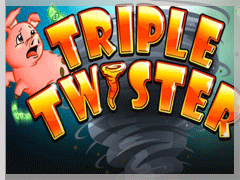 Triple twister slots machine