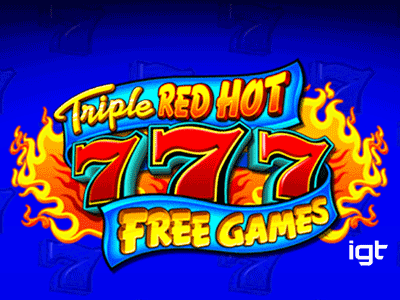 Triple Red Hot 777