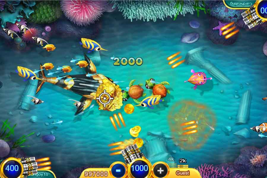 tips play fish shooting game online1