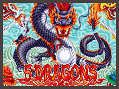 5-Dragon logo