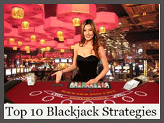 Top 10 Blackjack Strategies to win easy