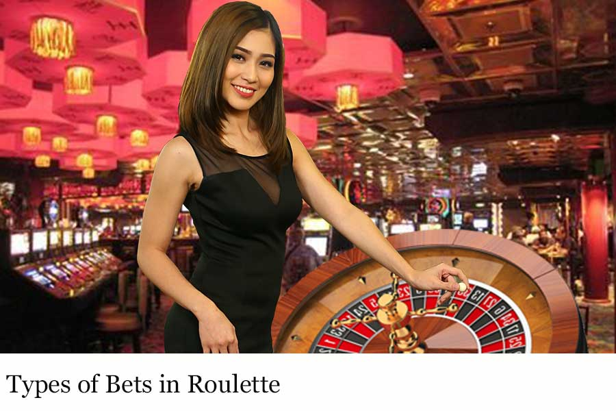 Types of Bets in Roulette in Singapore